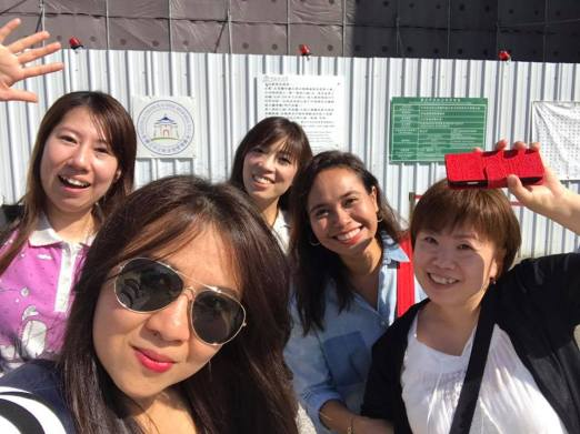 kita liburan di TAIWAN same crew RS